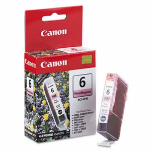 Canon BCI6PM (BCI-6) Ink Tank, 370 Page-Yield, Photo Magenta (CNMBCI6PM)
