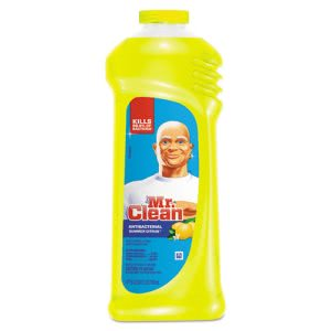 Mr. Clean Antibacterial Cleaner, Summer Citrus, 24oz. Bottle (PGC82707)