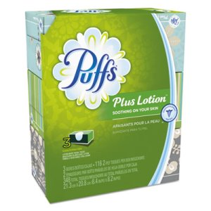 Puffs Plus Lotion Facial Tissues, 2-Ply, 24 Boxes (PGC82086CT)