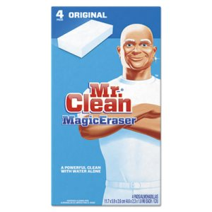 Mr. Clean 82027 Magic Eraser Cleaning Pads, 4 Pads (PGC82027)