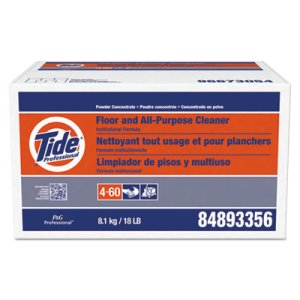 Tide 02363 Floor and All Purpose Cleaner, Powder, 18-lb. Box (PGC02363)
