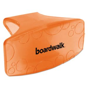 Boardwalk Eco-Fresh Bowl Clips, Mango, Orange, 72 Clips (BWKCLIPMANCT)