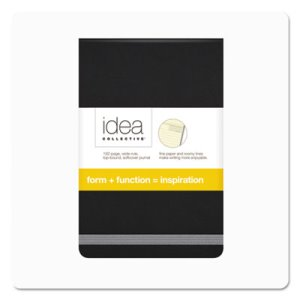 Tops Idea Collective Journal, Soft Cover, Top Binding, Black (TOP56885)
