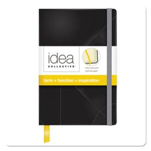 Tops Idea Collective Journal, Black, Ruled, 5-1/2 x 3-1/2, 192 Sheets (TOP56874)