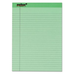 Tops Colored Writing Pads, Legal, Ltr, 50-Sheet Pads, 12 per Pack (TOP63190)