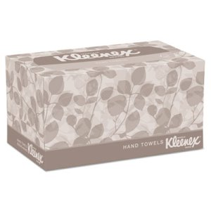 Kleenex 01701 Paper Hand Towels Pop-Up Box, 18 Boxes (KCC01701CT)