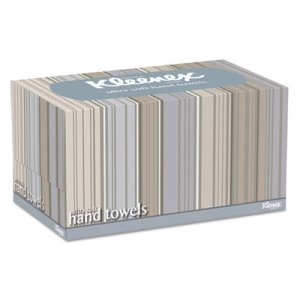 Kleenex 11268 Ultra Soft Hand Towels Pop-Up Box, 18 Boxes (KCC11268CT)