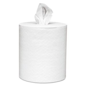 Scott 01051 White Center-Pull Paper Towel Rolls, 4 Rolls (KCC01051)