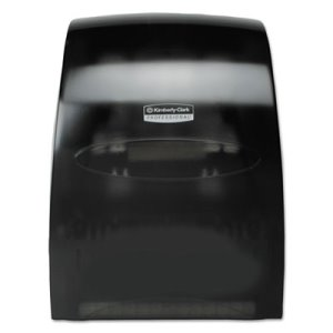In-Sight Sanitouch Hardwound Roll Towel Dispenser, Smoke/Gray (KCC09990)