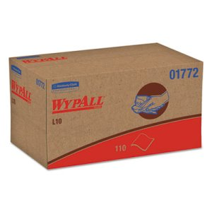 Wypall L10 Sani-Prep Dairy Towels Pop-Up Box, 1,980 towels (KCC 01772)