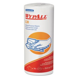 Wypall L30 Perforated Roll Wipers, Unscented, 1,680 Wipers (KCC05843)