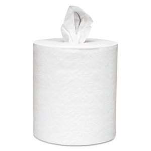 Scott White Center-Pull Paper Towel Rolls, 6 Rolls (KCC 01032)