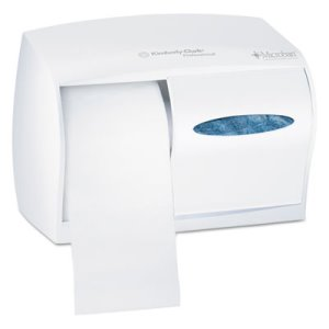 Kimberly Clark Windows 2 Roll Coreless Toilet Paper Dispenser (KCC 09605)