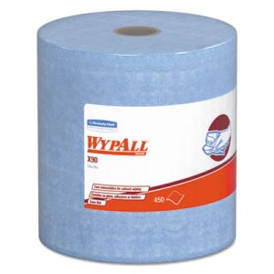 Wypall X90 Industrial Cloths, HYDROKNIT, 2-Ply, 1 Roll (KCC12889)