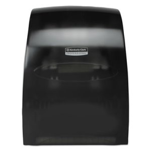 Kimberly Clark Sanitouch Hands Free Hard Roll Towel Dispenser, Smoke (KCC09996)