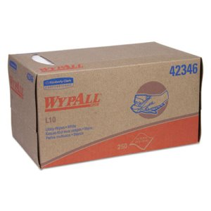 Wypall L10 Lightweight Utility Wipes, White, 6,000 Wipes (KCC42346)