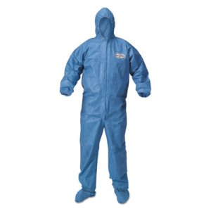 KleenGuard Coveralls, 2X-Large, Blue, 24 Coveralls (KCC 45095)