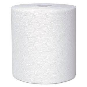 Kleenex 600 ft White Hard Roll Towels, 6 Rolls (KCC 50606)