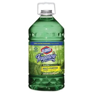 Clorox Fraganzia Multi-Purpose Cleaner, Forest Dew Scent, 175 oz Bottle, 3/Carton (CLO31525)