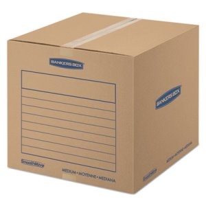 Bankers Box Basic Moving Boxes, 18 1/4 x 18 1/4 x 16 7/8, 20 Boxes (FEL7713901)