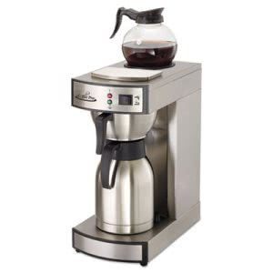 Coffee Pro 12-Cup Thermal Institutional Brewer, Stainless Steel (OGFCPRLT)