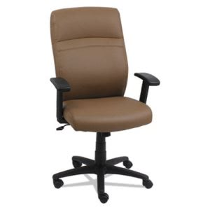 Alera CA Series High-Back Swivel/Tilt Chair, Taupe/Black (ALECA4159)