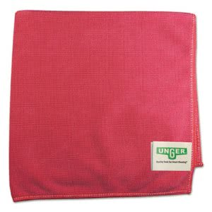 Smart Color Red Microfiber Cloths, Heavy-Duty, 10 Dust Cloths (UNGMF40R)