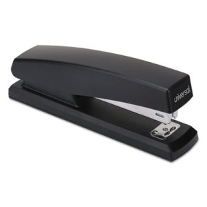 Universal Economy Full Strip Stapler, 12-Sheet Capacity, Black, Each (UNV43118)