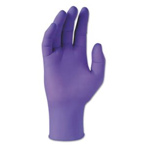 Kimberly Clark Purple Nitrile Exam Gloves, Small, 100 Gloves (KCC55081)