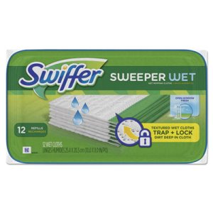Swiffer Sweeper Wet Mop Refill Cloths, 144 Cloths (PGC95531CT)