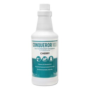 Conqueror 103 Odor Counteractant, Cherry, 12 - 32-oz. Bottles (FRS 12-32WB-CH)