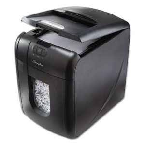 Swingline Stack-and-Shred 100 XL Super Cross-Cut Shredder Bundle (SWI1703094)