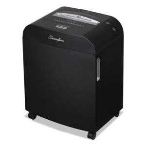 Swingline DX18-13 Medium-Duty Cross-Cut Shredder, 18 Sheet Capacity (SWI1758585)