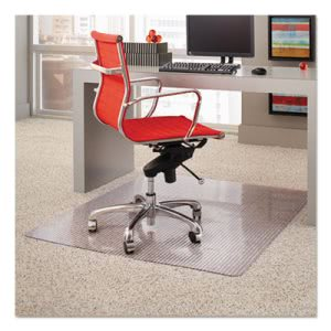 ES Robbins Dimensions Chair Mat for Carpet, 45 x 53, Clear (ESR162014)