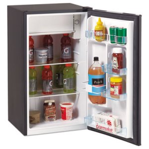 Avanti 3.4 Cu. Ft. Refrigerator with Chiller Compartment, Black (AVARM3316B)