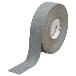 "3M Safety-Walk Slip-Resistant Tread Rolls, Gray, 1"" x 60', 4 Rolls (MMM19321)"