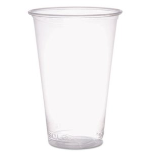 Solo Reveal Plastic 18-oz. Cold Cups, Clear, 1000 Cups (SCCPX18)