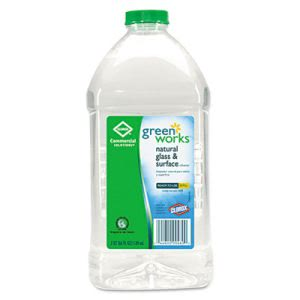 Clorox Green Works Natural Glass & Surface Cleaner, 6 /64oz Bottles (CLO00460CT)