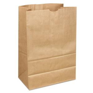 Duro Bag Kraft Paper Bags, Extra Heavy-Duty, Natural, 400 Bags (BAGSK164040)