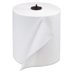 Tork Advanced Matic Hand Towel Roll, 1-Ply, White, 6 Rolls (TRK290089)
