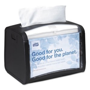 Tork Xpressnap Tabletop Napkin Dispenser, 7.9W x 5.9D x 6.1H, Black (TRK6232000)