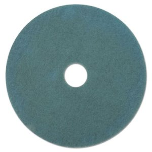 "3M Aqua 27"" Burnish Floor Pad 3100, Synthetic Fiber, 5 Pads (MCO 20264)"