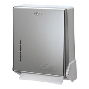 True Fold Metal Front Cabinet Paper Towel Dispenser (SAN T1905XC)