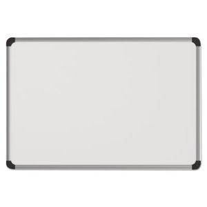 Universal Magnetic Dry Erase Board, 24 x 18, Aluminum/Plastic Frame (UNV43732)