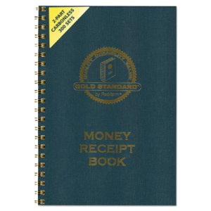 Rediform Carbonless Duplicate Money Receipt Book, 300 Sets/Book (RED8L810)