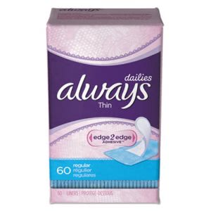 Always Dailies Thin Liners, Regular, 720 Liners (PGC08282)