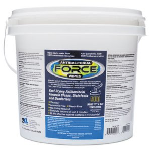 2XL CareWipes Antibacterial Force, White, 900 Wipes/Bucket, 2 Buckets (TXLL400)