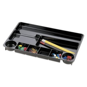 Universal Recycled Drawer Organizer, Nine Compartments, Plastic (UNV08120)