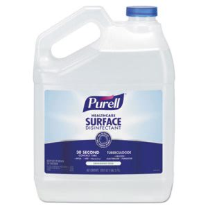 Purell Healthcare Surface Disinfectant, Fragrance Free, 1 gal Bottle, 4/Carton (GOJ434004)