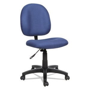 Alera Essentia Series Swivel Task Chair, Acrylic, Blue (ALEVT48FA20B)